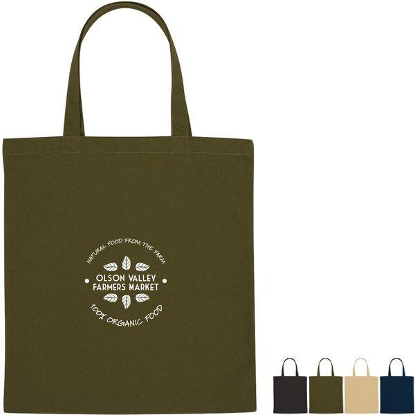 Theodore Cotton Canvas Tote Bag