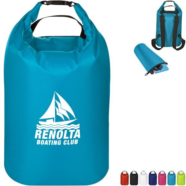 Waterproof Dry Bag Polyester Backpack, 27 Liter