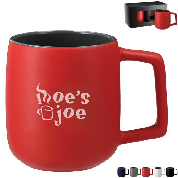 Sienna Ceramic Mug 2-in-1 Gift Set