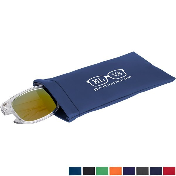 Spring Closure Eyeglass Pouch
