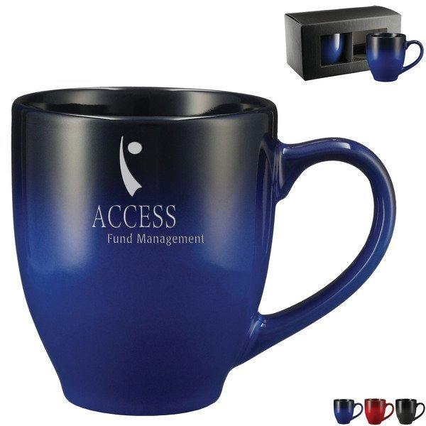 Bistro Ceramic Mug 2-in-1 Gift Set