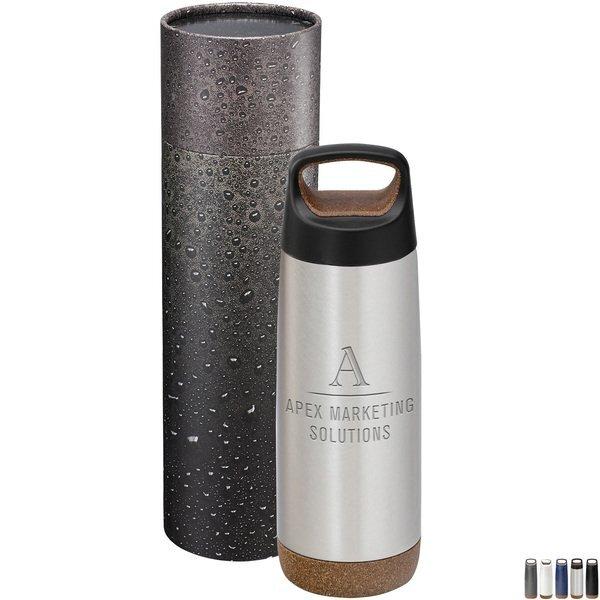 Valhalla Copper Bottle w/Cylindrical Box, 20 oz.
