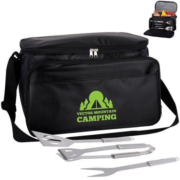 Backyard BBQ Set in Cooler Bag