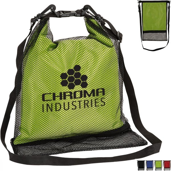Crestone Waterproof Bag w/ Mesh Outer Pocket, 3.8L