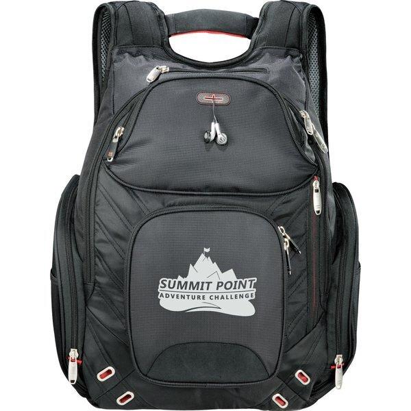 """elleven™ Amped TSA 17"""" Nylon Computer Backpack"""