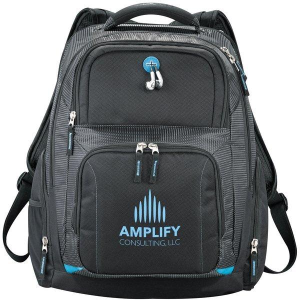 """Zoom™ TSA 15"""" PolyCanvas Computer Backpack"""