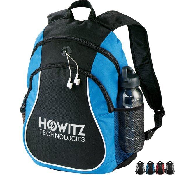 Coil PolyCanvas Backpack w/ Headphone Port