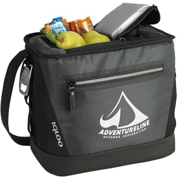 Igloo® Maddox Diamond Weave Coated Polyester 24 Can Deluxe Cooler
