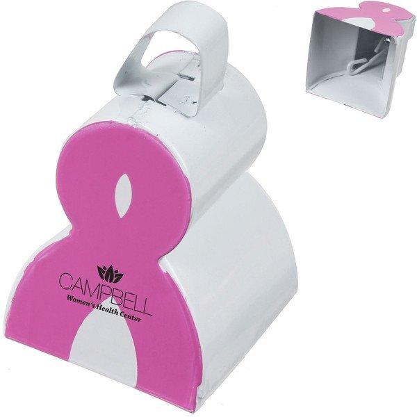 Pink Ribbon Cowbell