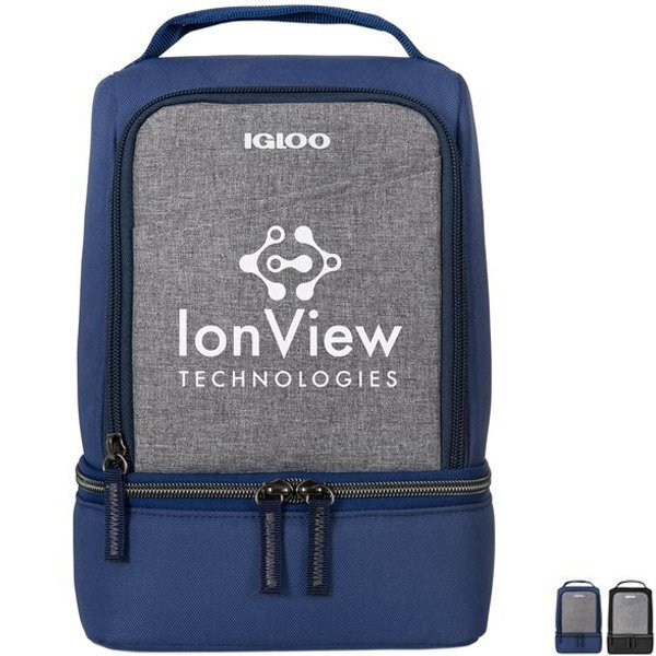 Igloo® Rowan Dual Compartment Polyester 7 Can Lunch Cooler