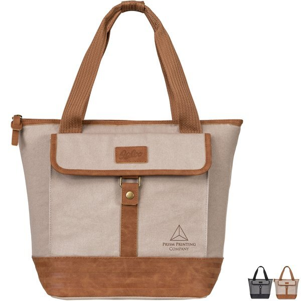 Igloo® Legacy Cotton Canvas 12 Can Lunch Tote Cooler