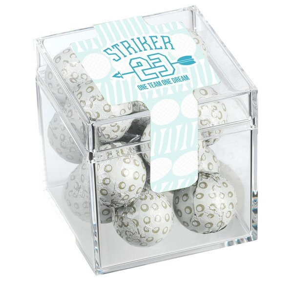 Caddie Candy Box w/ Chocolate Golf Balls