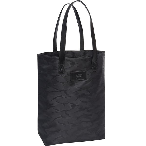 Midnight Camo Polyester Jacquard Tote Bag
