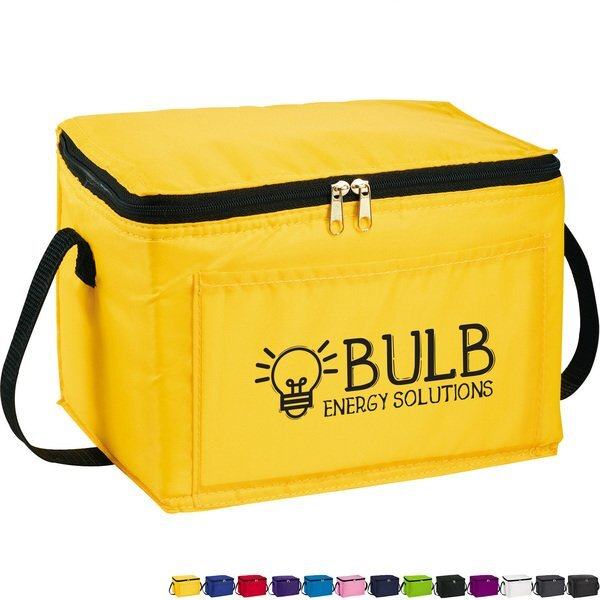 Spectrum Budget 6-Can Polyester Lunch Cooler