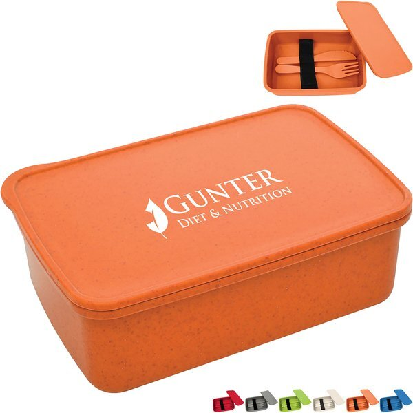 Harvest Lunch Container & Utensils Set