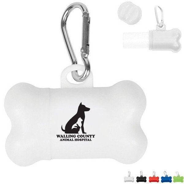 Dog Bone Doggy Bag Dispenser