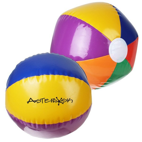Rainbow Beach Ball, 16""