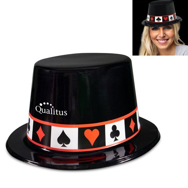 Casino Plastic Top Hat