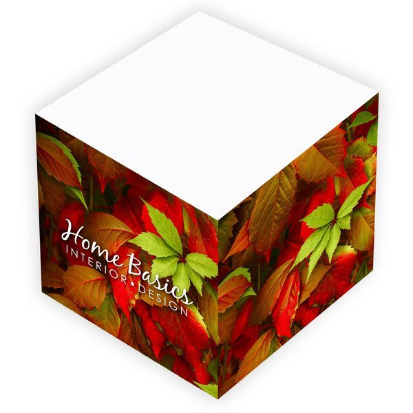 "BIC® Non-Adhesive Note Cube, 3"" x 3"" x 3"""