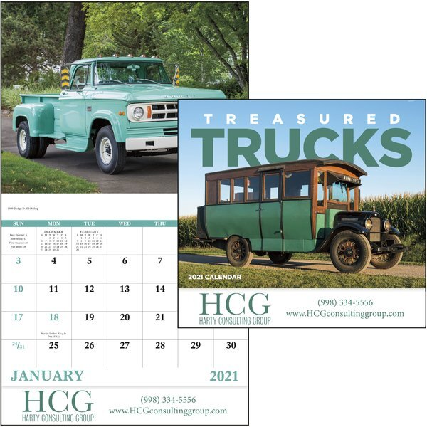 Treasured Trucks Good Value Appointment Calendar