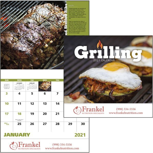 Grilling Good Value Appointment Calendar