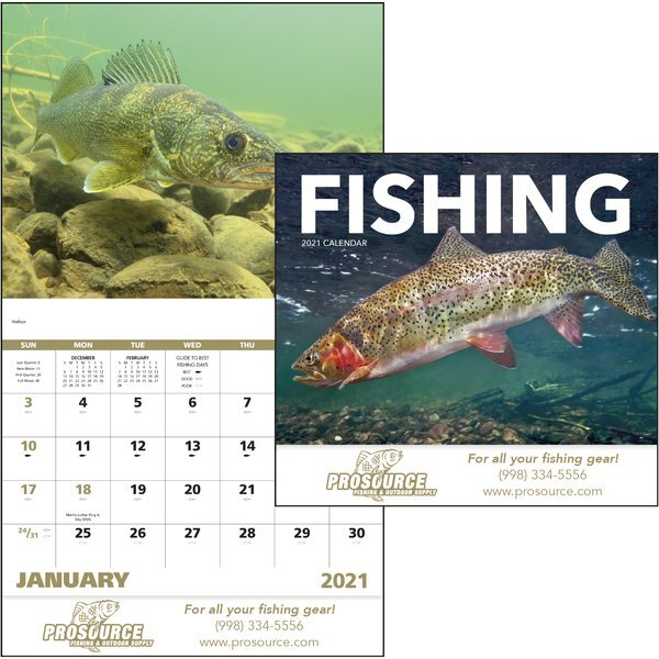 Fishing Good Value Appointment Calendar