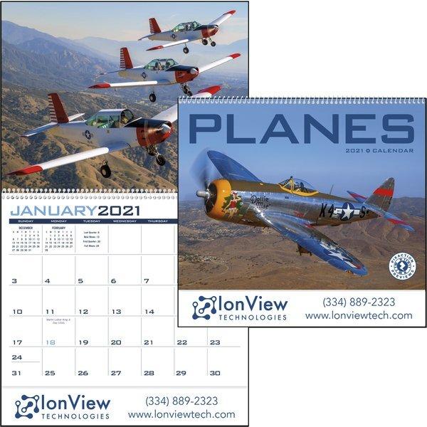 Planes Wall Calendar