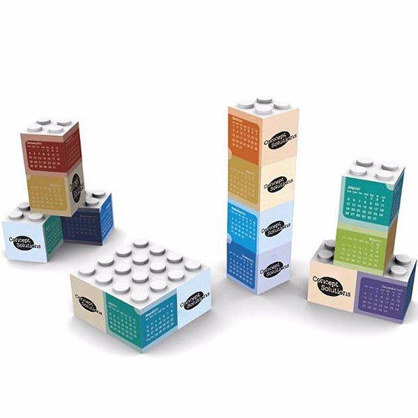 Building Blocks Desk Calendar