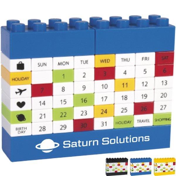 Puzzle Block Desk Calendar