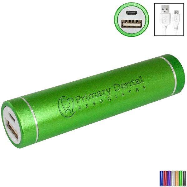 Cylinder Power Bank, 2200 mAH