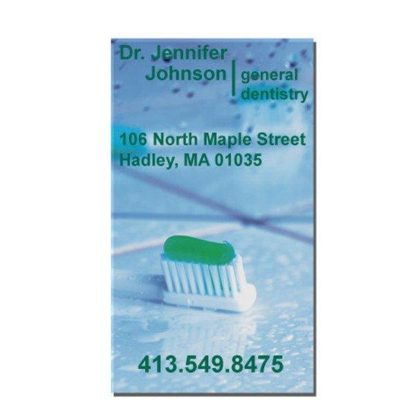 Single Toothbrush Design Full Color Magnet