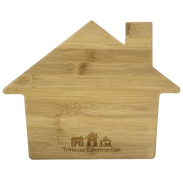 House Bamboo Cutting Board