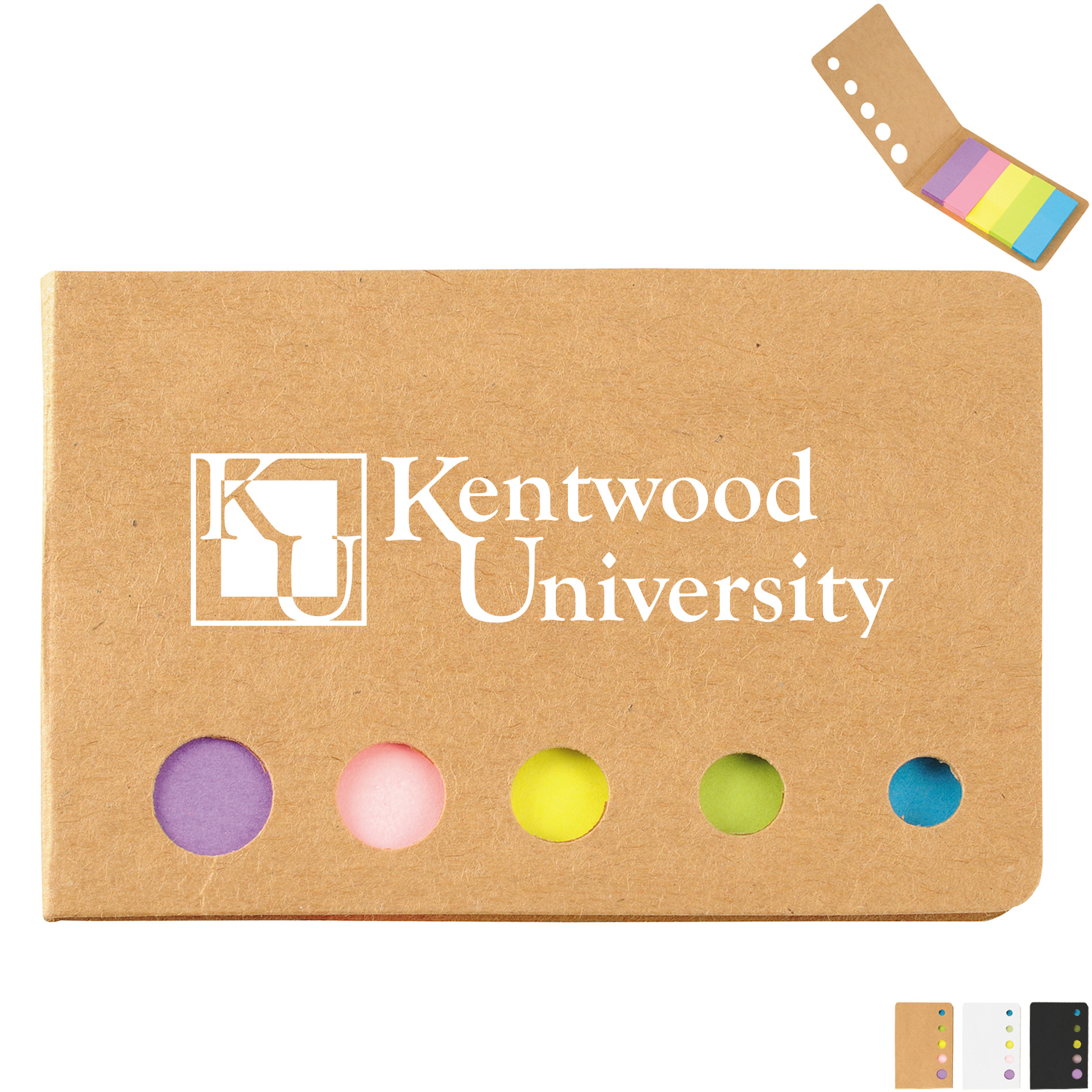 Promotional Sticky Post It Note Holders Die Cut Flag Holder Promotions Now
