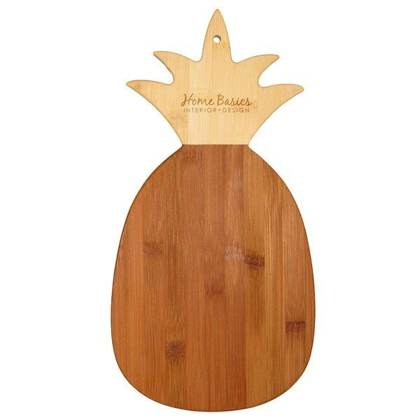 Pineapple Bamboo Cutting & Serving Board