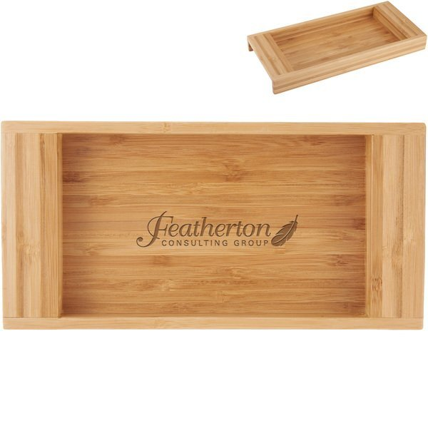 Bamboo Personal Accessory Tray
