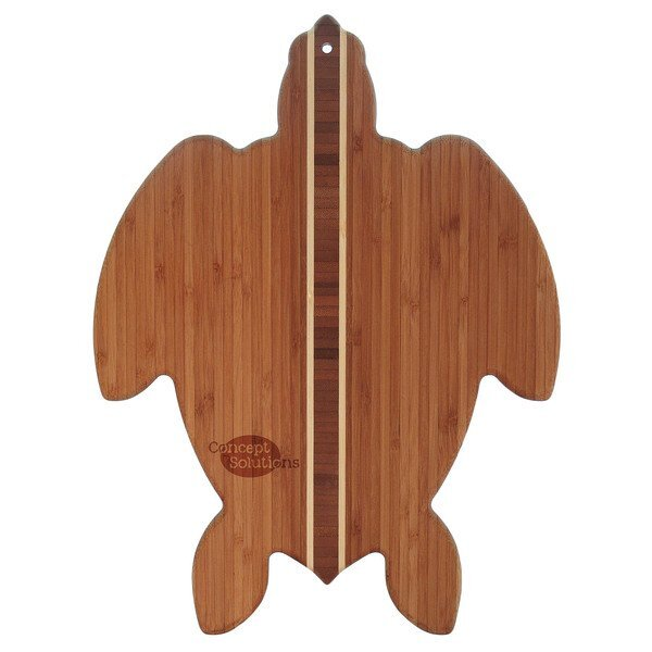 Sea Turtle Bamboo Cutting & Serving Board