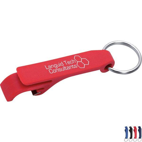 Mini Bottle & Can Opener / Key Ring