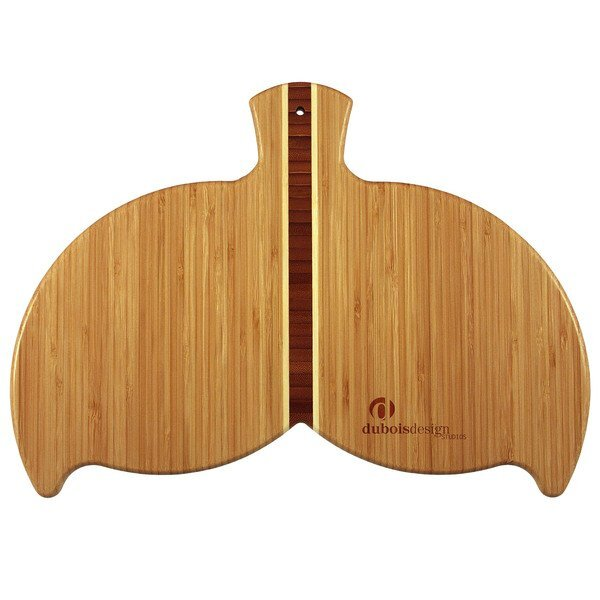 Whale Tail Bamboo Cutting & Serving Board