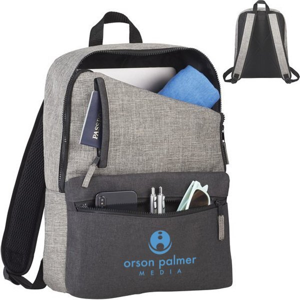 """Reclaim Recycled RPET Polycanvas 15"""" Computer Backpack"""