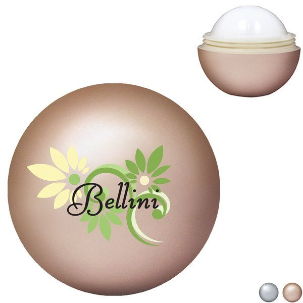 Halycon® Metallic Lip Balm, Full Color Imprint