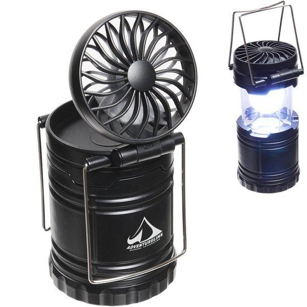 Retro Lantern w/ Fan