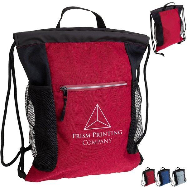 Greystone Polycanvas Drawstring Backpack