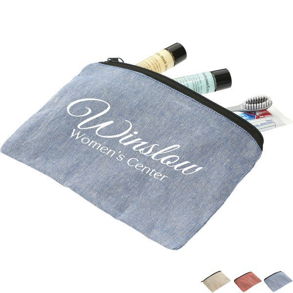 Recycled Cotton Twill Pouch