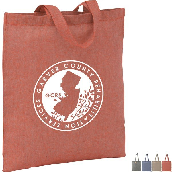 Recycled 5oz. Cotton Twill Tote Bag