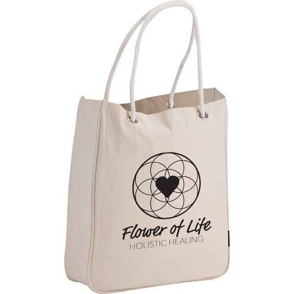Organic 6oz. Cotton Canvas Carry All Tote