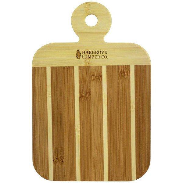 Striped Bamboo Paddle Board