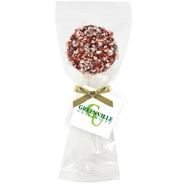 Peppermint & Chocolate Covered Oreo® Pop