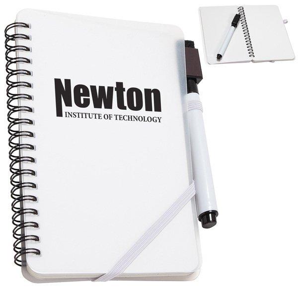 "Write + Wipe Erasable Jotter Notebook, 4-3/8"" x 7"""