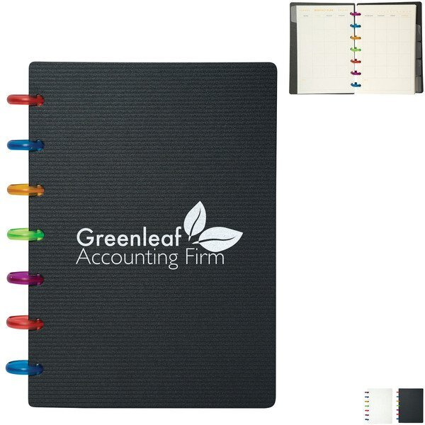 """Colorspin Planner Notebook, 5-3/4"""" x 7"""""""