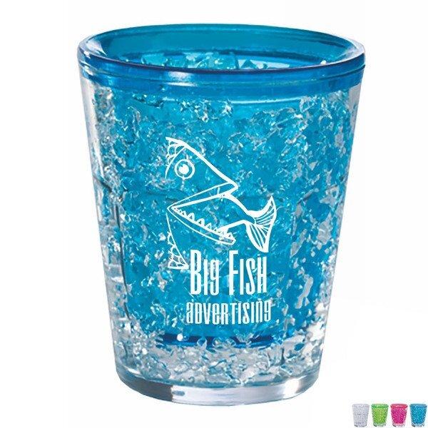 Arctic Gel Plastic Shot Glass, 1.7oz.
